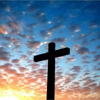 Easter Cross at Daybreak