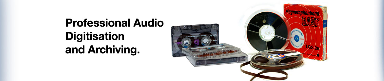 Make your precious memories last - Transfer audio tapes and Vinyl LPs to CD, MP3 and digital.